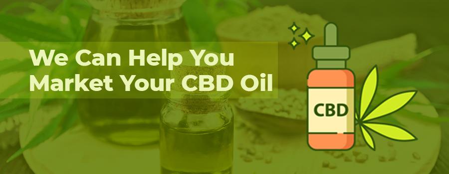 CBD oil with hemp seeds and flour. CBD marketing agency. How to market CBD oil and CBD products online. CBD marketing tips.