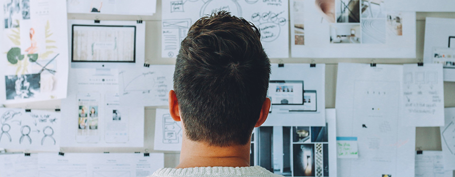 Dispensary owner looking at a whiteboard wondering how to open a dispensary in Ontario. Cannabis Marketing Agency. Dispensary Marketing Company. Social Media for Dispensaries.