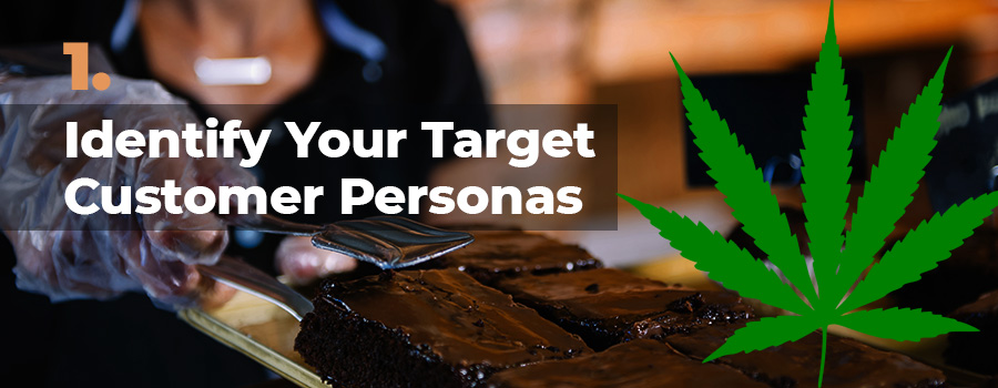 Dispensary marketing tips - Tip 1. Idnetify your target customers and marketing personas. Dispensary social media marketing agency. Dispensary marketing company. Cannabis retail store marketing.