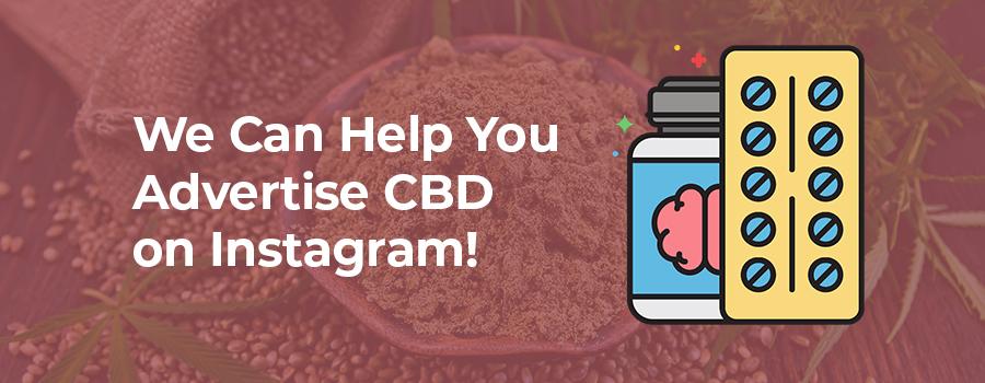 ColaDigital.ca CBD and cannabis marketing agency can help you advertise CBD on Instagram.