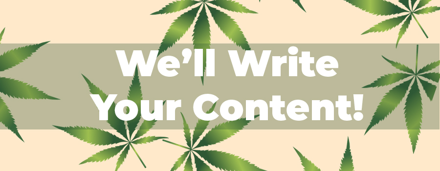 Cannabis website content writing services. Blog content writing for CBD companies. Marijuana content writers.
