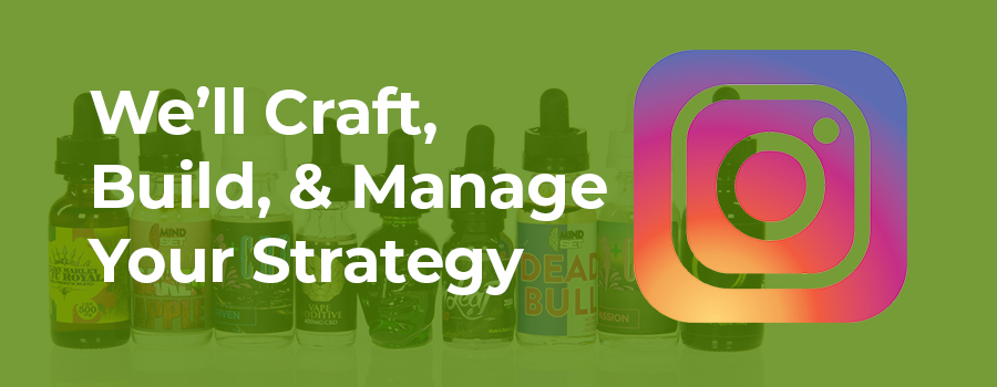 Various CBD oil showcased on a stand. Instagram dispensary marketing tips.  Increase engagement on Instagram Stories.