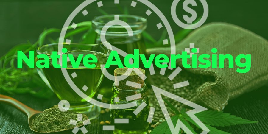 Native advertising for CBD oil. Can you advertise CBD online? CBD Ad Networks.