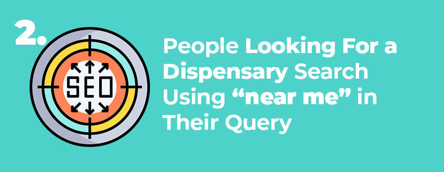 "People looking for a dispensary will use the term ""near me"" when looking to buy weed near them. ColaDigital is a dispensary marketing and SEO agency. Dispensary marketing tips."