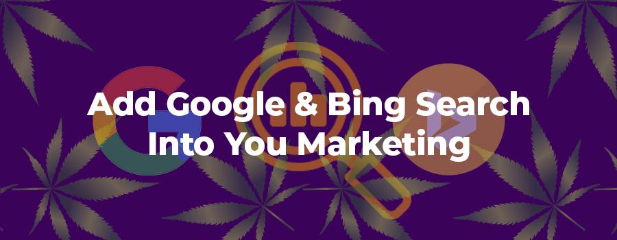 How to strategically add Google and Bing search marketing into your marijuana marketing strategy. Marijuana SEO company. Advertise marijuana on Google. Marijuana marketing agency USA and Canada.