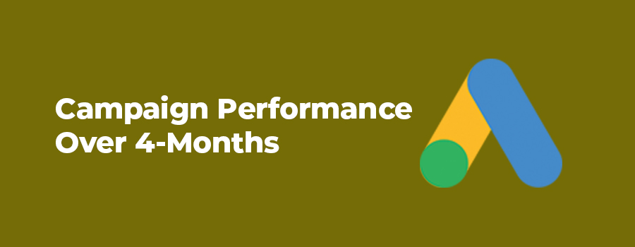 Campaign performance over 4-months.
