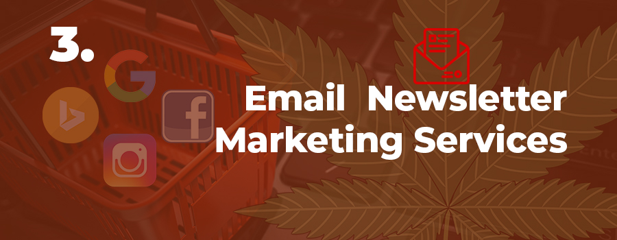cannabis marketing tip - use email marketing to keep customers informed. cannabis marketing services - marijuana email marketing for dispensaries.