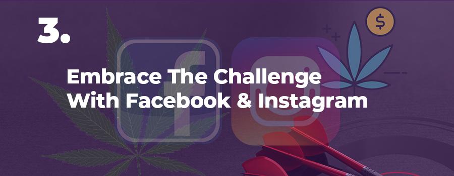 Facebook & Instagram marijuana marketing tips and ideas. Marijuana marketing strategy. Cannabis and CBD marketing agency.