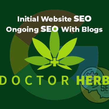 Logo for DoctorHerb.co.uk. SEO Client.