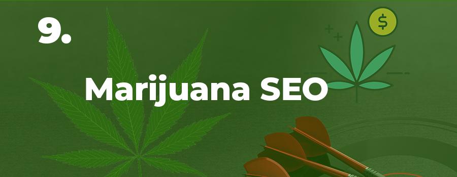 Marijuana SEO agency. Marijuana marketing company. Cannabis marketing ideas and tips for dispensaries.