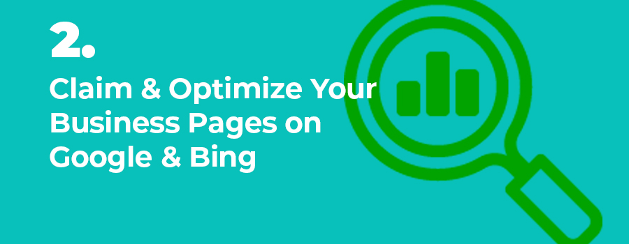 To effectively market your dispensary on Google you need to claim, setup, and optimize your business pages on Google and Bing.  Dispensary SEO agency.