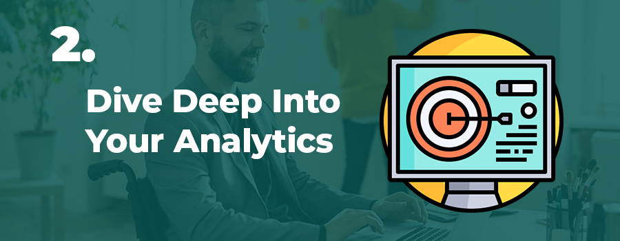 Cannabis content writing tips #2:  Dive deep into website analytics. Cannabis content writing agency. cannabis writers canada. b2b cannabis writer.