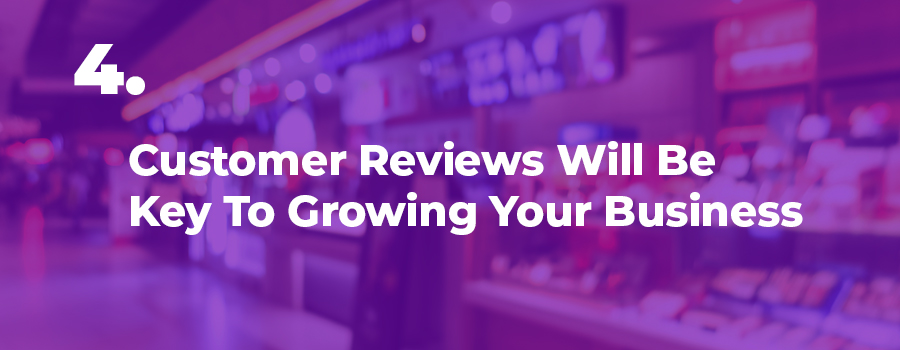 Dispensary marketing tip: Customer reviews are key to growing your dispensary business.