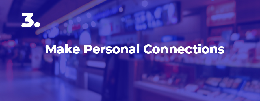 Create personal connections with your in store customers. How dispensaries can increase retail store traffic. Dispensary marketing agency. Social media marketing company for marijuana dispensaries. Local dispensary marketing ideas.