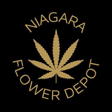 niagara flower depot logo. dispensary marketing agency. dispensary website development and design.