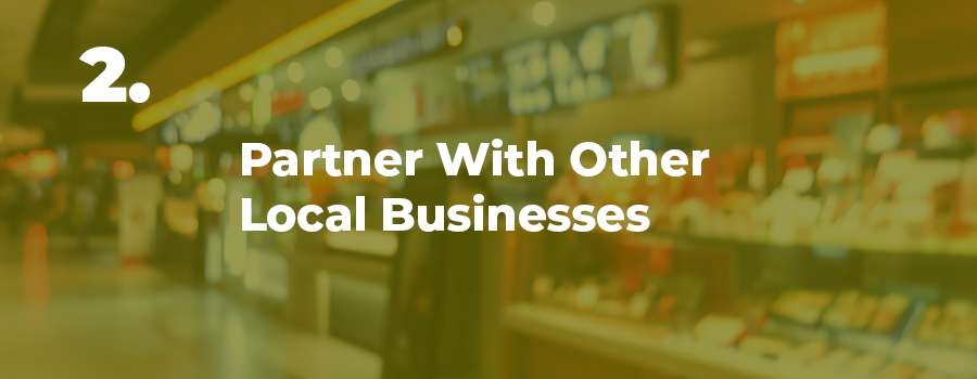 Dispensary marketing idea number 2: partner with other 420 friendly businesses. Dispensary marketing agency. Social media management company for dispensaries.