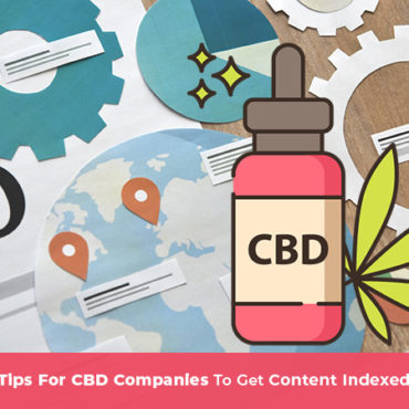 SEO graphic with CBD oil icon on top. SEO for CBD companies. seo for cbd. cbd seo marketing. SEO agency for CBD businesses.