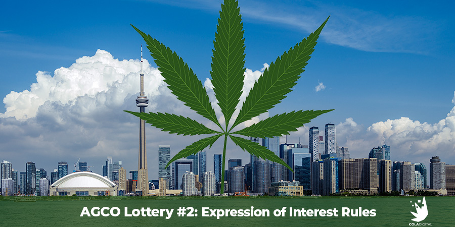 AGCO Lottery Rules For Second Cannabis Retail Store License
