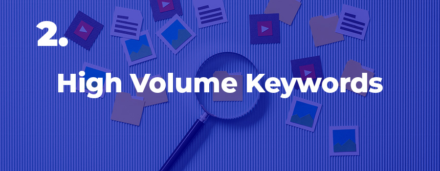 Check search volume for your targeted keywords for CBD marketing. SEO services for CBD companies.