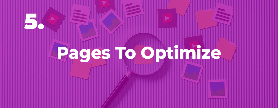 5th tip for SEO on CBD websites is to choose priority pages to optimize. keyword research for cbd.