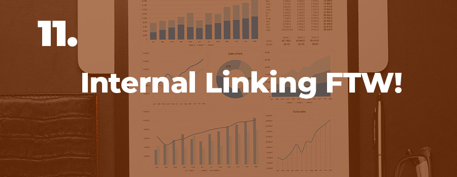 An optimized internal linking strategy will help your marijuana SEO and rankings.