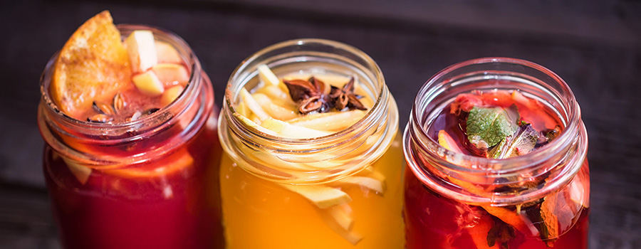 Fruit drinks and cannabis infused beverages. marketing cannabis products online.