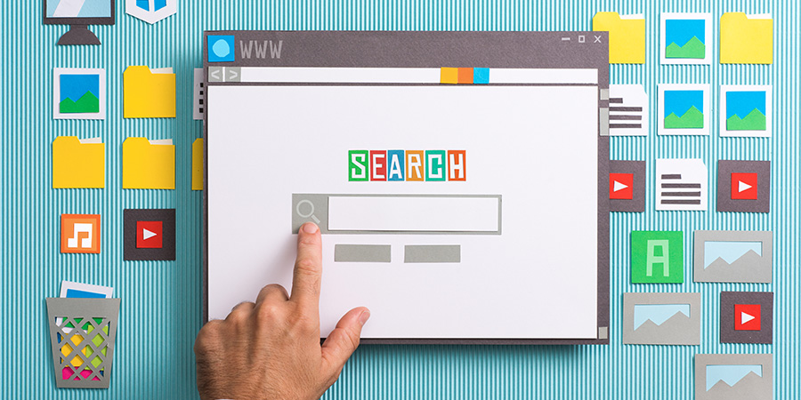 Image of a search engine homepage. CBD SEO company Canada and Inited States.