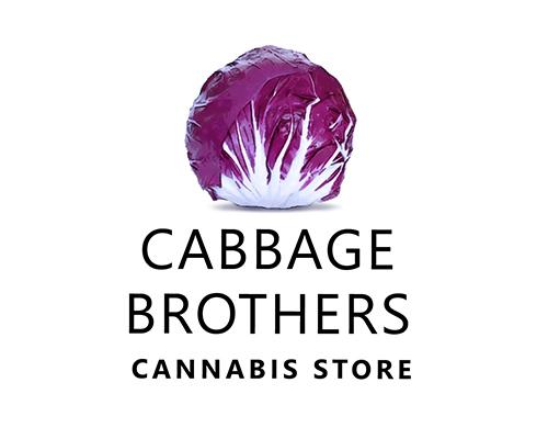 cabbage brothers logo. cannabis logo design agency coladigital.ca.