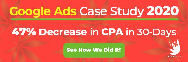 google ads case study cta