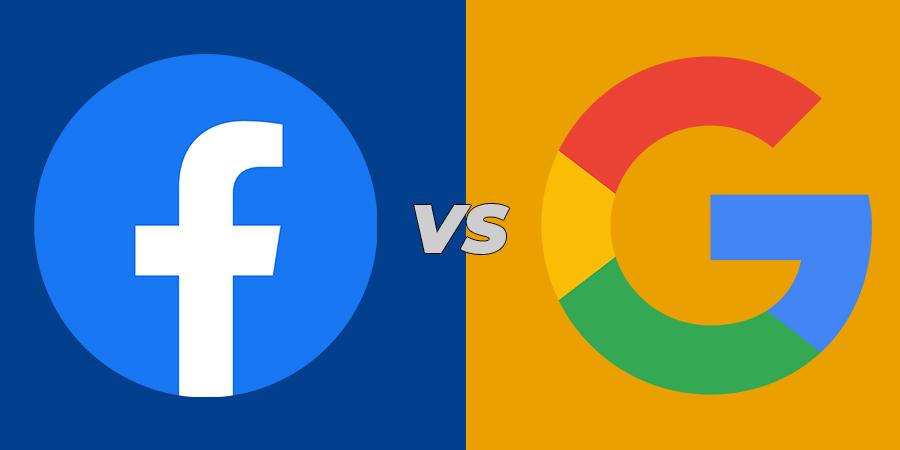 cbd facebook ads vs google search ads for hemp cbd products.