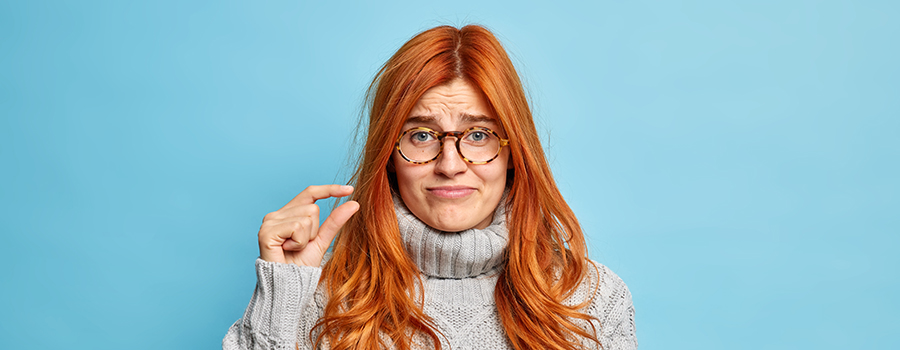displeased redhead. cbd website design company. SEO for cannabis companies content marketing copywriting.
