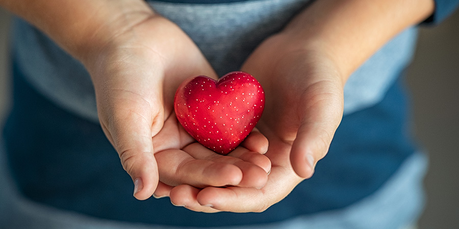 Holding heart in hands. CBD digital marketing strategy, SEO, and advertising agency.